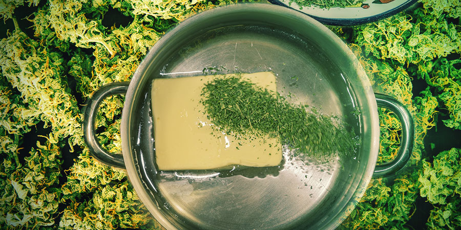 Je Eigen Cannabis-edibles Maken