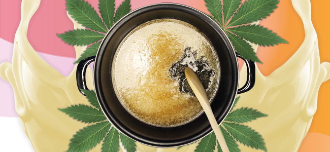 De Bereiding Cannabis Boter