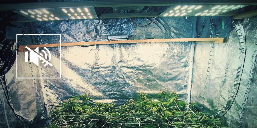 Het Geluid Van Je Cannabiskweekruimte Beperken