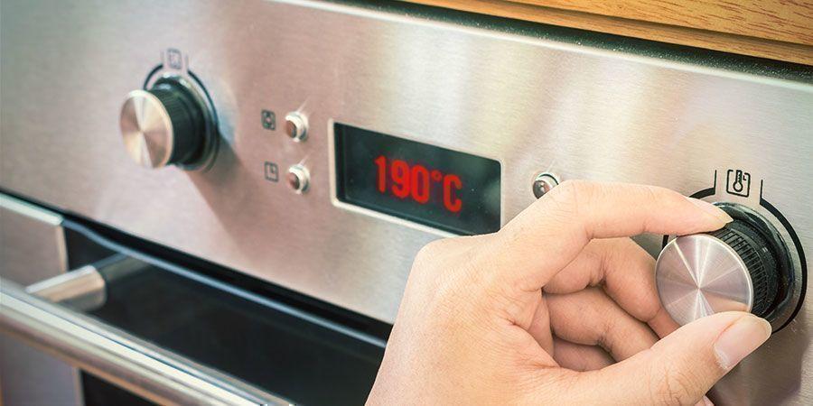 Bij Een Te Hoge Temperatuur Bakken Of Koken