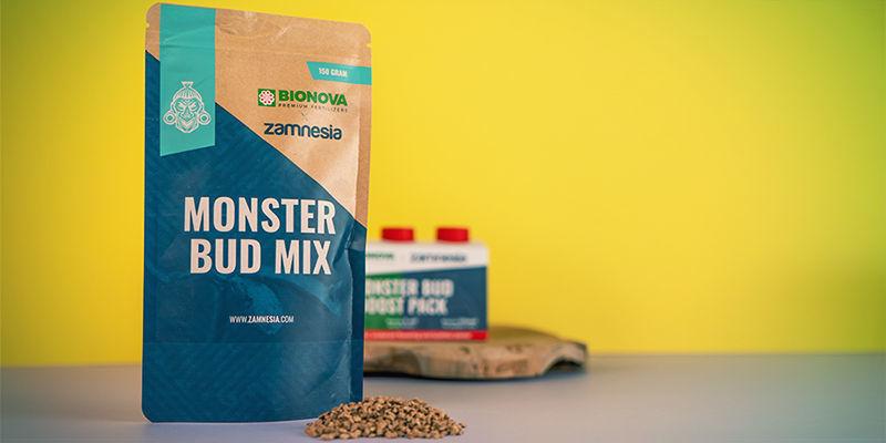 Monster Bud Mix en Monster Bud Boost Pack