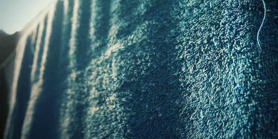 Andere manieren om de RV te verhogen: Hang natte handdoeken op