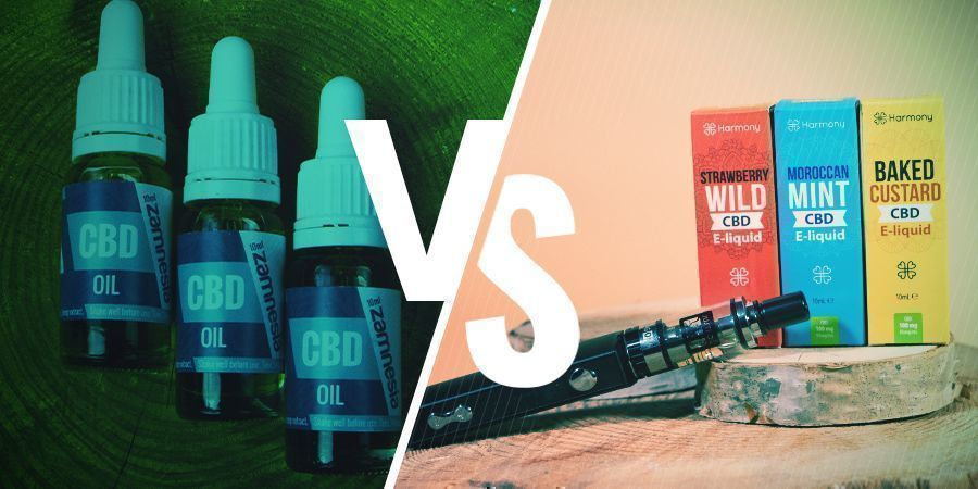 Is CBD-olie Hetzelfde Als CBD E-liquid?