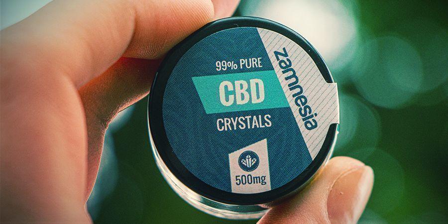 CBD Kristallen 99% Puur (Zamnesia)
