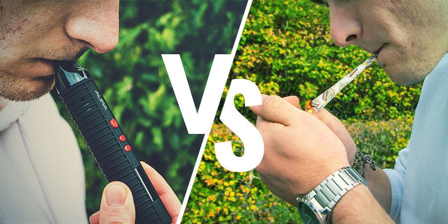 Het verschil tussen roken en vapen