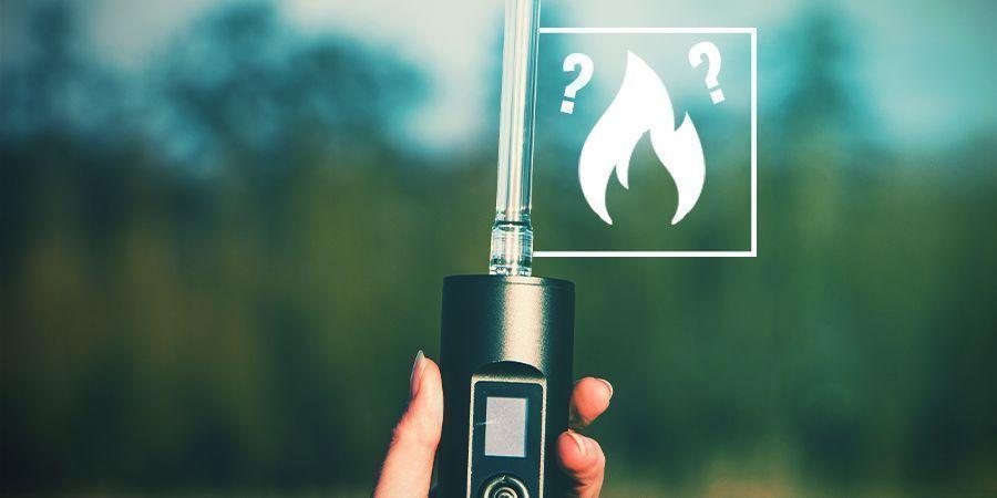 Waarom moet je een vaporizer burn off doen?