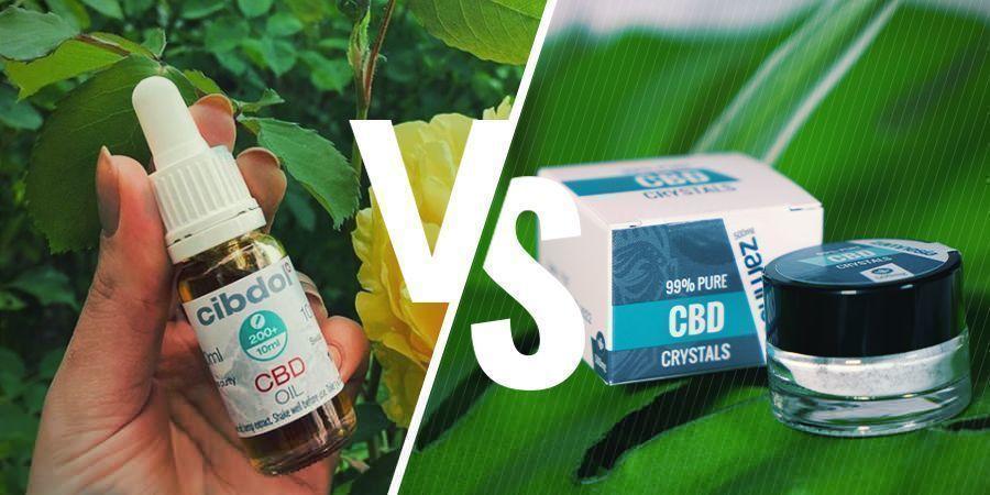 Full-spectrum CBD versus CBD-isolaat