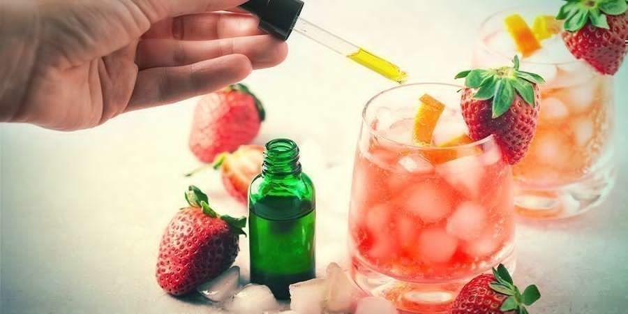 Mix CBD-olie met een drankje