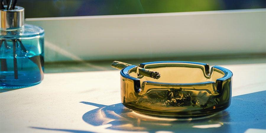 Verontreinigde wiet herkennen: controleer je asbak