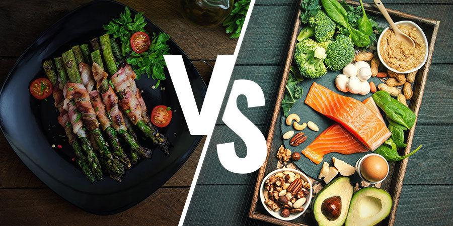 Welk dieet is geschikt voor jou, paleo of keto?