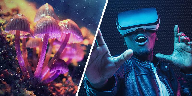 Psychedelica en VR: overeenkomsten