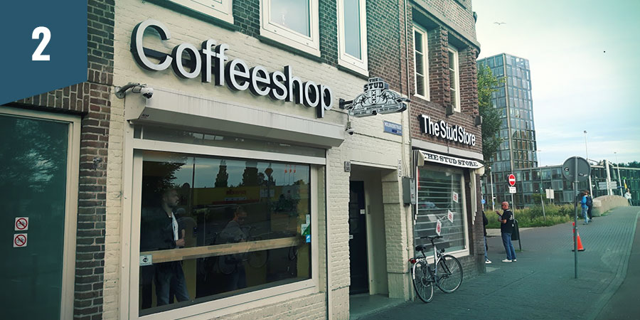 The Stud Coffeeshop Amsterdam