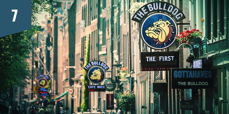 The Bulldog Coffeeshop Amsterdam