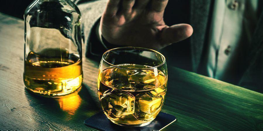 Blijf uit de buurt van alcohol totdat je een expert bent