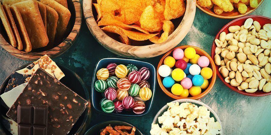 Houd gewone snacks bij de hand