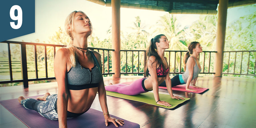 Bezoek een yoga shala