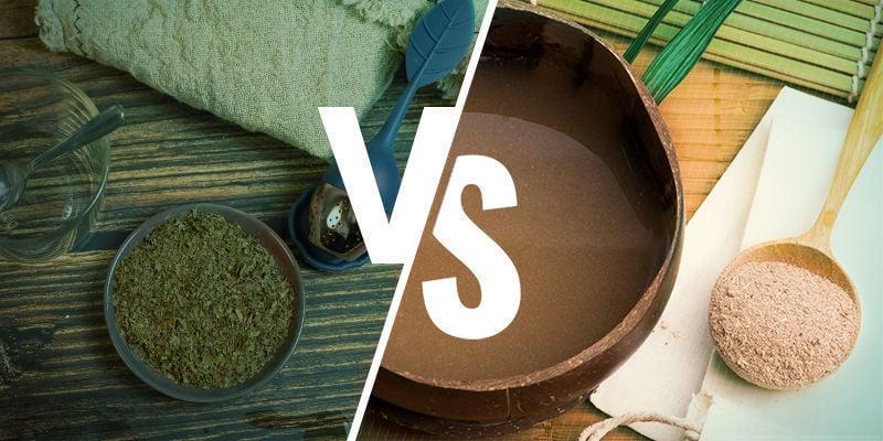 Kratomthee versus kava