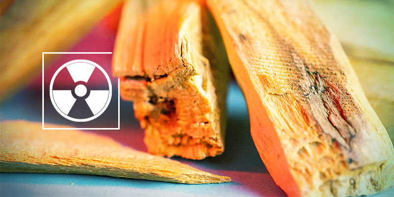 Is Palo santo hout giftig?