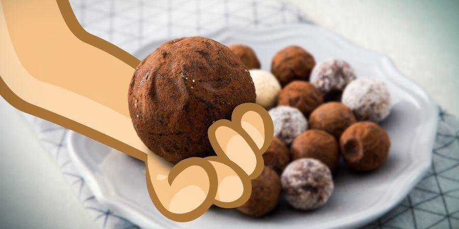 Cannabis Chocoladetruffels