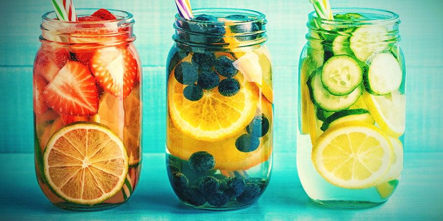 Alternatieven Voor Bongwater: Water Met Fruit