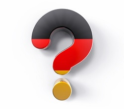 German questionmark