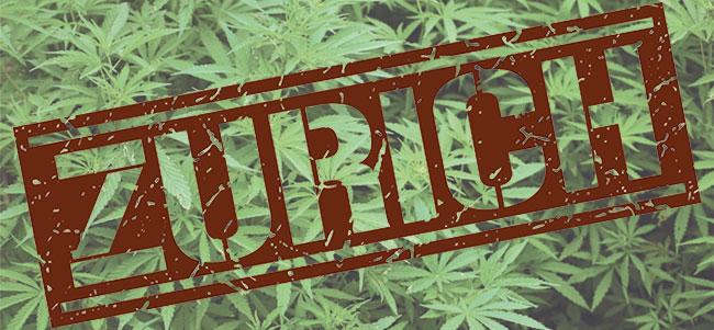 Zurich Zwitserland Cannabis