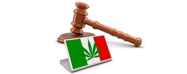 Cannabiswetten in Italië