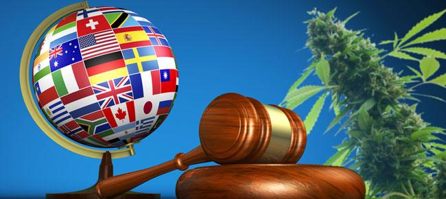 Cannabislegalisatie wereld