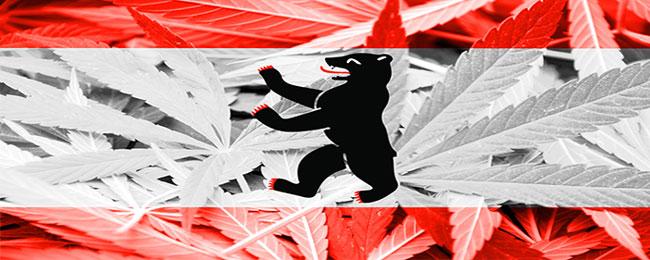 Cannabis vlag berlijn