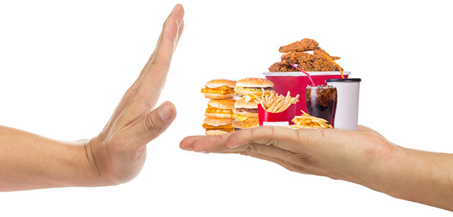 Junk food activiteit