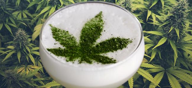 Wietstengel cocktail