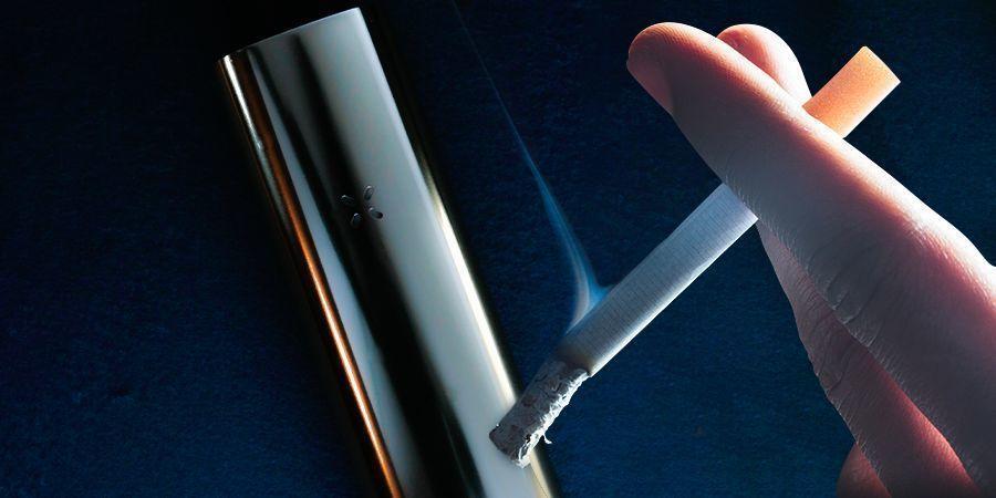 Wat is het verschil tussen verdampen en roken?