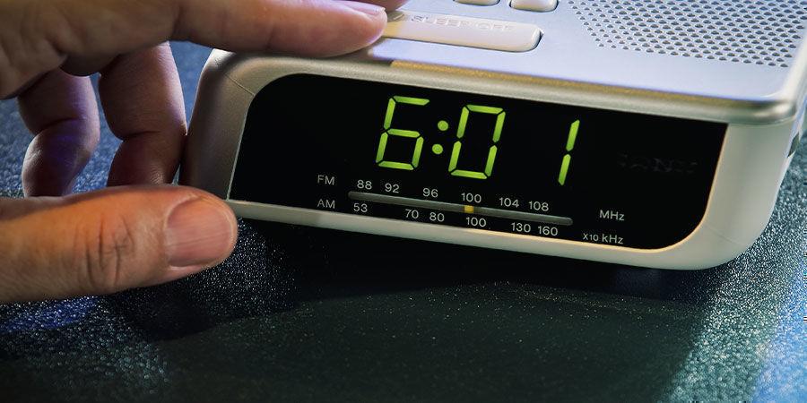 Zet regelmatige wekkers