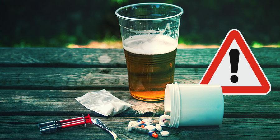 Welke drugs moeten worden vermeden?