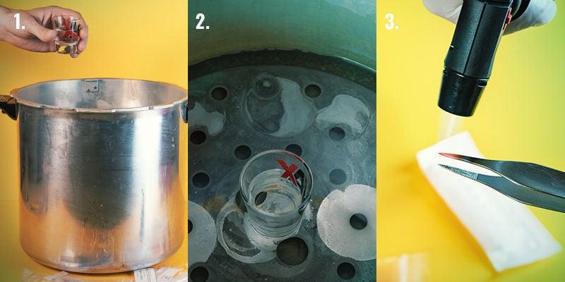 Sporenspuit Maken: Stap Voor Stap Instructies: Stap 1-3