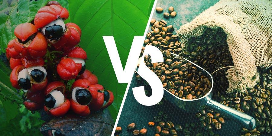 Guarana Versus Koffie