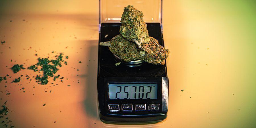 het unieke weegsysteem van cannabis