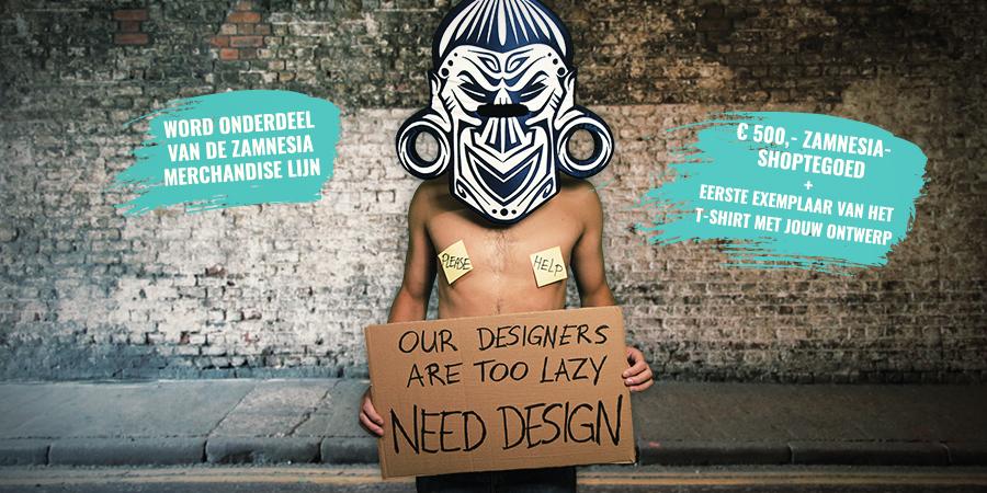 Zamnesia Merchandise-ontwerpwedstrijd 2020
