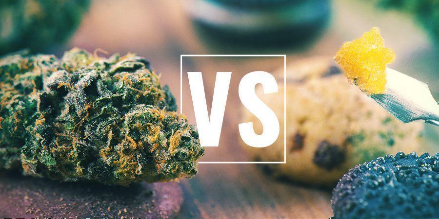 Cannabistoppen Vs. Edibles Vs. Concentraten