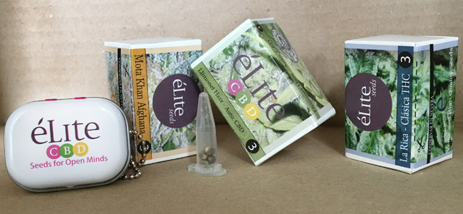 Élite Seeds Verpakking