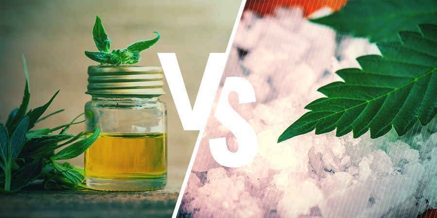 FULL-SPECTRUM CBD VERSUS ISOLAAT