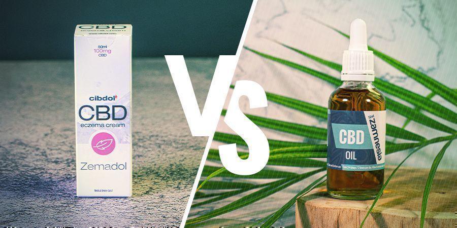 Waarom zou je CBD cosmetica gebruiken in plaats van pure CBD-olie?