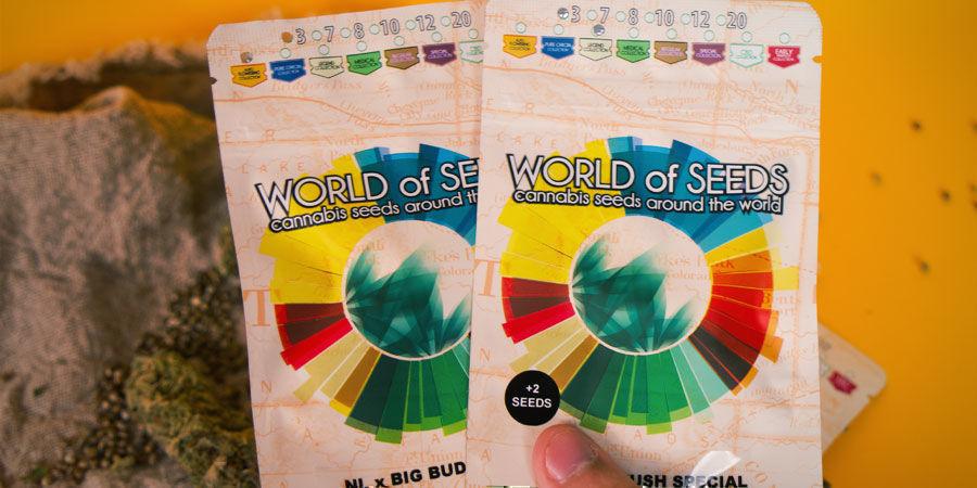 Hoe Worden De Wietzaadjes Van World Of Seeds Verpakt?