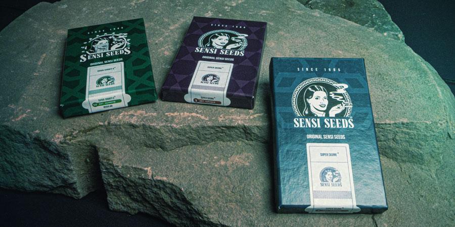 Verpakking Sensi Seeds