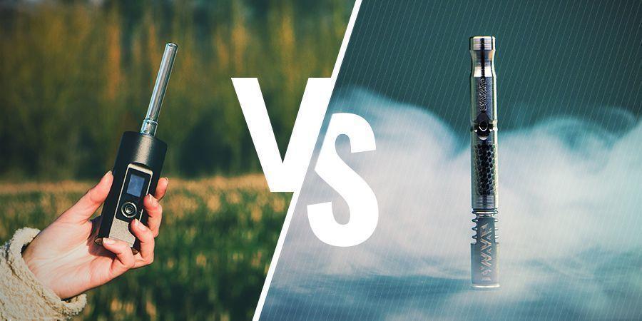 Elektrische vs. handmatige (analoge en digitale) vaporizers