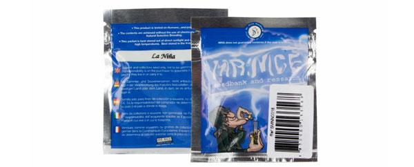 Mr. Nice verpakkingen