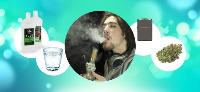 Hoe Rook Je Een Bong