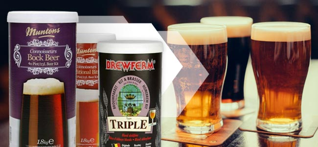 How To Brew Beer With A Brew Kit