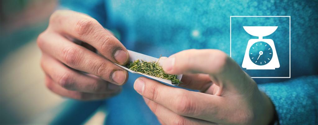 Hoeveelheid Cannabis In Een Joint