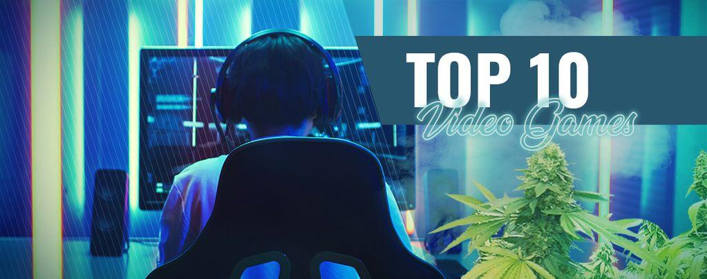 De top 10 videogames die je high moet spelen